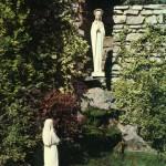 Madonna di Lourdes in oratorio S PIO X