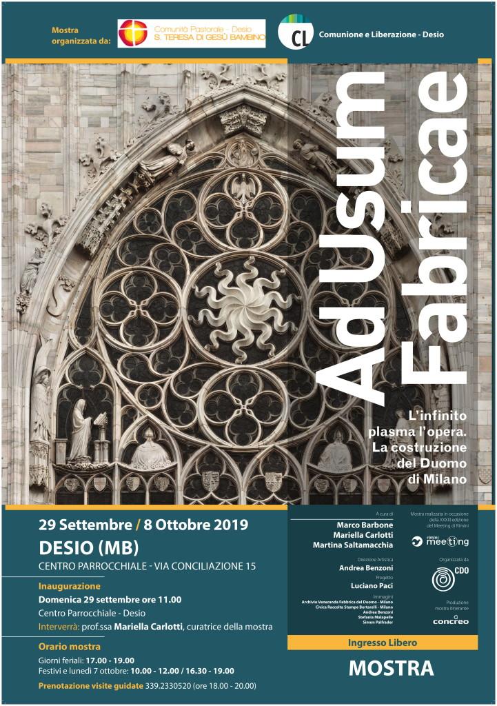 Ad usum fabricae - L'infinito plasma l'opera. La costruzione del Duomo di Milano.