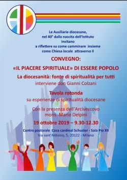 """Convegno """"Il piacere spirituale di essere popolo"""""""