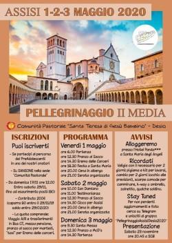 Pellegrinaggio preado Assisi