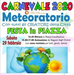 Carnevale in piazza 2020